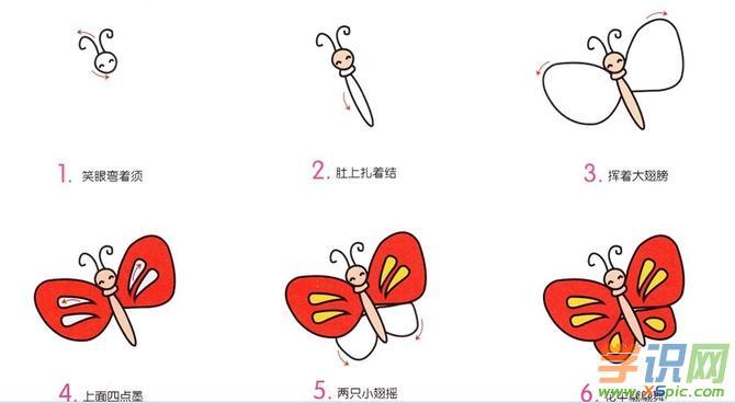 成生动可爱的作品,以下是学识网小编分享给大家的简笔画动物画法教程