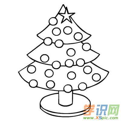 简笔画澳门葡京网站圣诞树