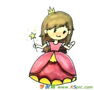 小公主的儿童画绘画教程
