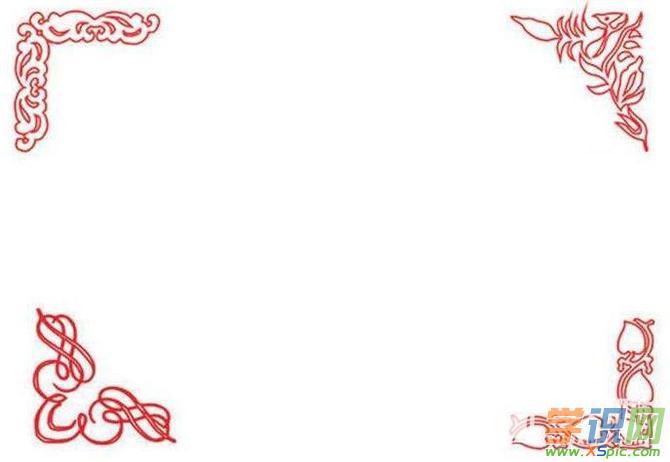 好看的圣诞节手抄报边框图案
