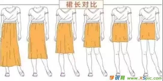 穿什么裙子显矮还显胖