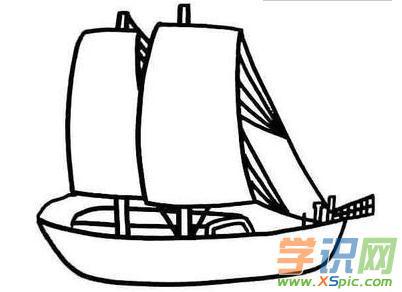 轮船儿童创意简笔画图片5    欣赏完轮船儿童创意简笔画图片之后