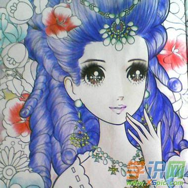 儿童画画澳门葡京网站画公主图片