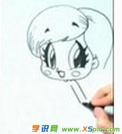 儿童画画公主大全图片