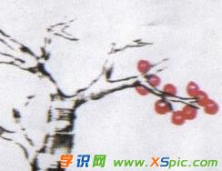 儿童中国画樱桃图片大全
