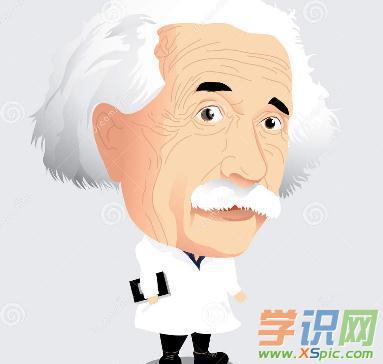 爱因斯坦漫画图片