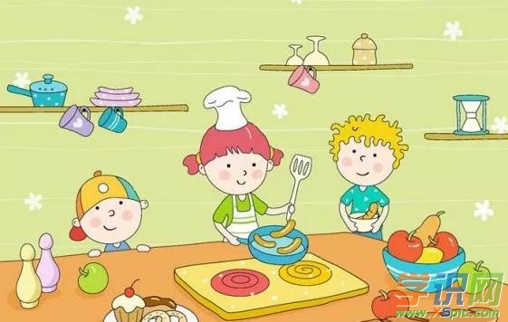 小学生叙事作文:洗菜