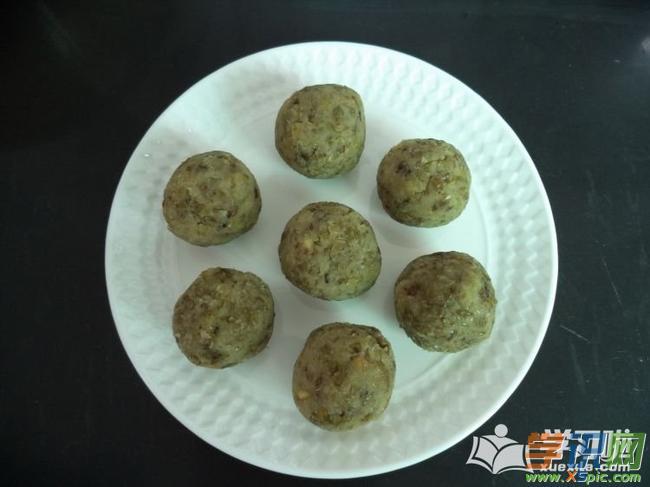 香酥绿豆饼的做法详细过程