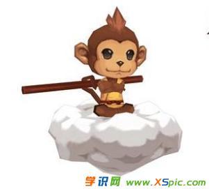 小萌猴繪畫圖片
