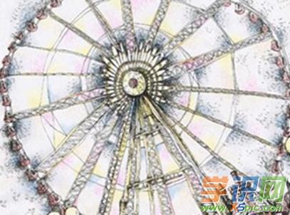 世界上最大的摩天轮简笔画图片