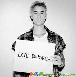好听的英文歌:Love Yourself--justin Bieber