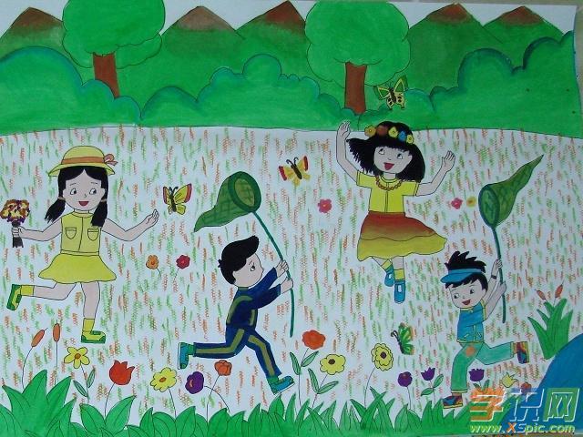 一年级六一的绘画作品有哪些