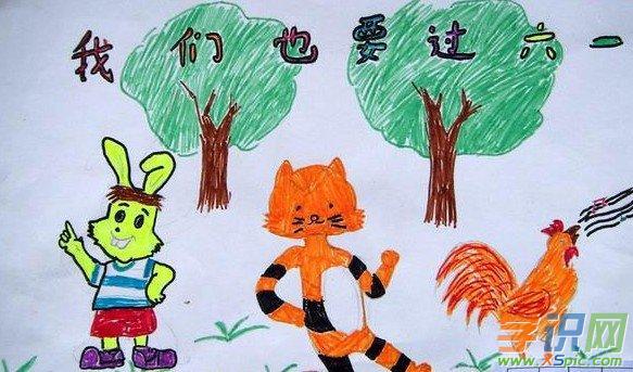 六一儿童节的绘画作品有哪些