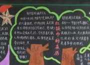 中国少年先锋队内容黑板报-飘扬红领巾