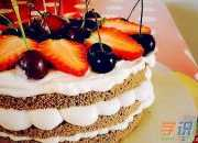 浪漫生日蛋糕的做法