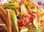鱿鱼丝炒腐竹的做法