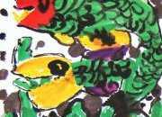 儿童趣味水墨画