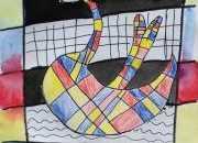 儿童水粉画入门绘画图片