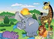 《人与动物》小学六年级优秀范文